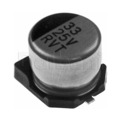 25v33mf6354 Smd Capacitor 25v 33uf 6x5mm