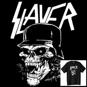 Slayer-Skull-T-Shirt-Vintage-Style-Heavy-Speed-Trash-Metal ...