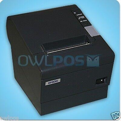 Epson Tm-t88iv Pos Receipt Printer M129h Serial Dark Gray Refurb Warranty