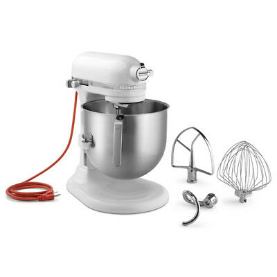 KitchenAid KSM8990WH 8-Quart Bowl-Lift Mixer, White