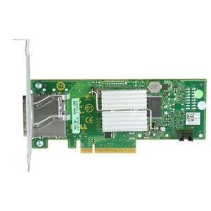 New Dell 6 Gbps SAS HBA controller card