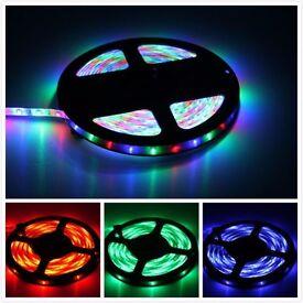 12V / 24V LED 5M Flexible Tape Light Strip Light Single Colour/Colour Changing Available in STOCK!!!