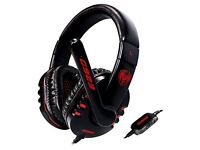 Gaming Headset for PC,Laptop,Phone,PS4,XboxOne,Switch,with Mic,3.5MM Plug