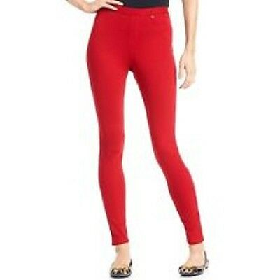 Denim Leggings Size Small Color Jester Red  U13360h  (Jester Leggings)