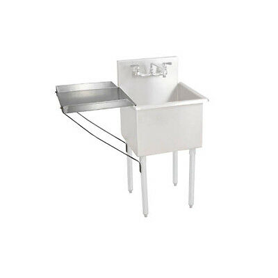 Bk Resources Bk8bs-dd1821 18w X 21d Stainless Steel Detachable Drainboard