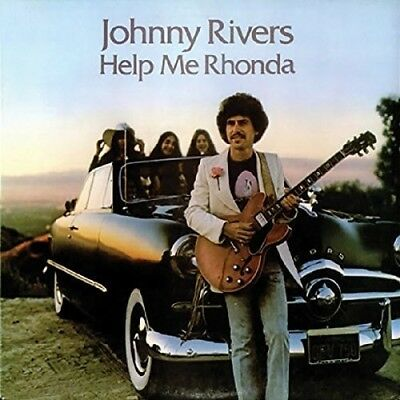Johnny Rivers   Help Me Rhonda  New Cd  Uk   Import