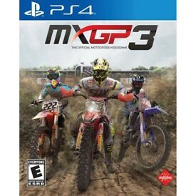 PS4 MXGP3 pre owned