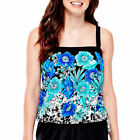 Maxine of Hollywood Regular Floral 10 Swimwear for Women