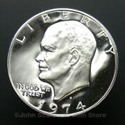 1974 Eisenhower Uncirculated Dollar