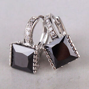 18-kt-white-gold-Princess-Cut-Black-Diamond-Earrings-3-CT