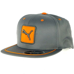 Puma Cat Patch 110 Flat Brim Flexfit Snapback Adjustable Cap