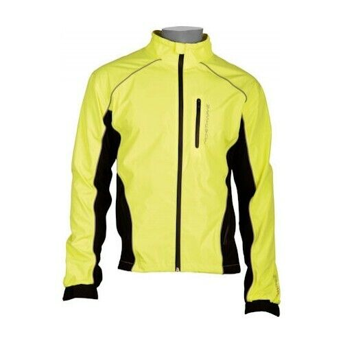 Northwave Traveller Waterproof Cycling Jacket, Yellow/Black, Small