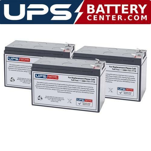 Eaton Powerware PW9120 1000 Compatible Replacement Battery Set