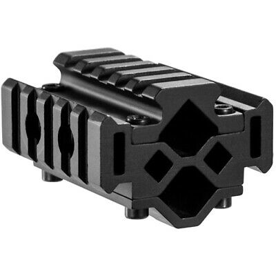 Barska Double Rifle Barrel Mount Tri Rail System with 5 Sections, -