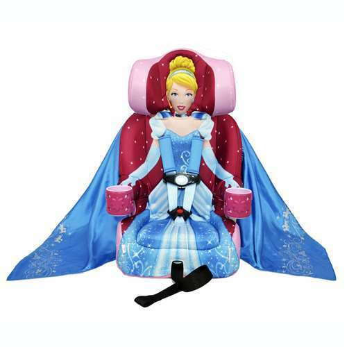 Kids Embrace Disney Cinderella Combination Harness Booster Car Seat (Open Box)