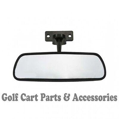 "Golf Cart Mirror - Rear View  EZGO, Club Car, Yamaha 8"" x 2.5"" Hardware Included"