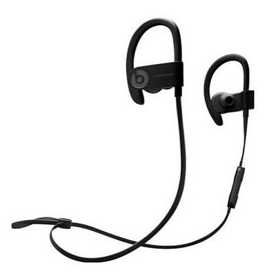 Beats By Dr. Dre Powerbeats 3 Black Wireless In Ear Earbuds Headphones Bluetooth