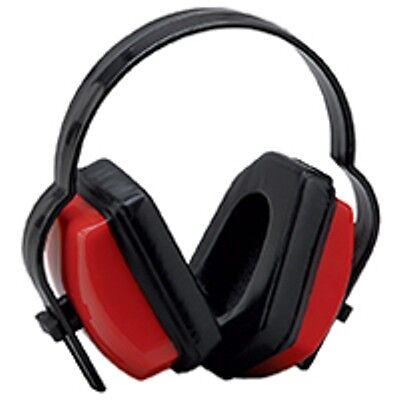 2 Red Ear Muffs Hearing Protection Folding Adjustable Workhuntingshooting