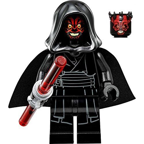 Type mini figure lego star wars darth maul