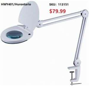5X Magnifying Lamp with Adjustable Arms From $79