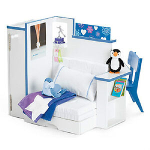 American Girl Doll Mias Bedroom Accessories For Room Bed Chair Furniture