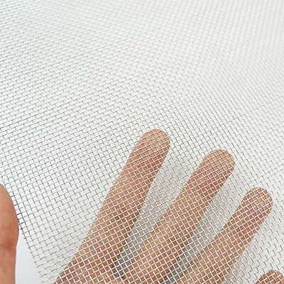 Stainless Steel Woven Wire Mesh Roll Metal Mesh Sheet Window Screen Mesh 12x24
