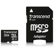 32GB Micro SDHC Class 10 Transcend