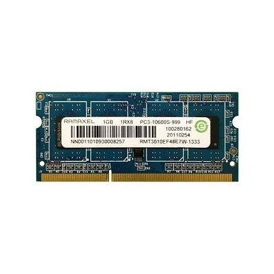 1GB Laptop Memory PC3-10600 DDR3-1333MHz CL9 204-Pin SoDIMM Single Rank Memory