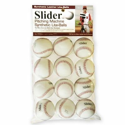 6 Pack Trend Heater Sports PowerAlley Pro Yellow Dimple Baseballs PAPMB29