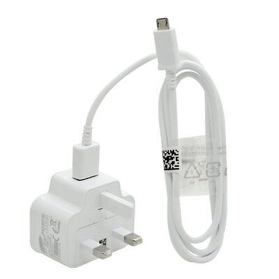 GENUINE SAMSUNG GALAXY TAB 3 / 10.1 / 7.0 / S6, S5 / USB MAINS WALL CHARGER