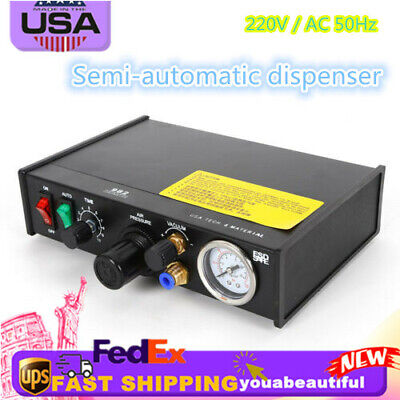 982solder Paste Controller Glue Dropper Glue Liquid Adhesive Dispenser 110v