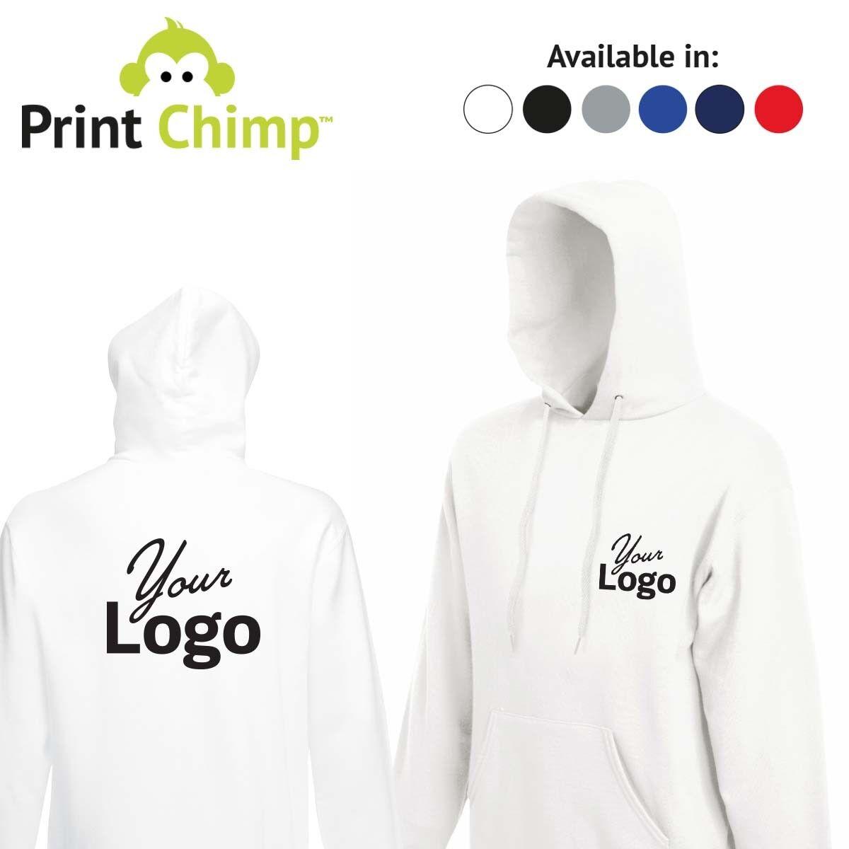 Personalised Hoodie Printed With Your LogoCustomisedWorkwearPrinting