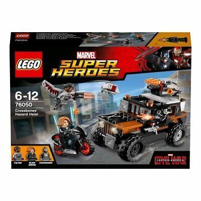Lego Marvel Crossbones' Hazard Heist set 76050 3 x Minifigures 2016 Retired