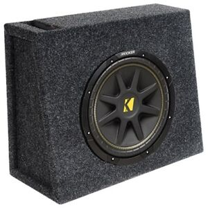 Kicker 8in Slim Loaded Subwoofer -New in box
