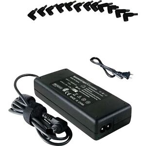 Universal AC Adapter Power Supply Cord Charger for Laptop Notebo