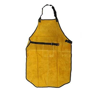 Extra Large Apron Premium Split Cowhide Leather Work Welding Apron Safety Appare