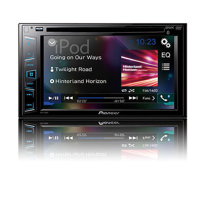 NEW Pioneer Double 2 Din AVH-290BT DVD/MP3/CD Player 6.2