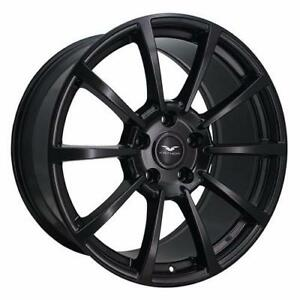 **PROMOTION VENTE FINALE** MAGS NEUFS  20''10'' 5 X 114.3 FATHOM FD-CR (ASB) ALL SATIN BLACK
