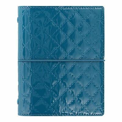 Filofax 2019 Pocket Organizer, Domino Luxe Teal, 4.75 x 3.25 inches -