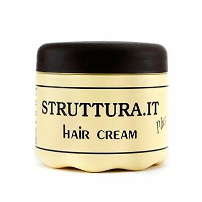STRUTTURA HAIR CREAM PLUS Crema Maschera Capelli Crespi Effetto Morbido 500 ML