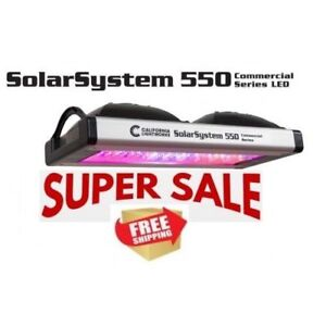 T&T Hydroponic: LED SolarSystem 550 - FREE SHIPPING