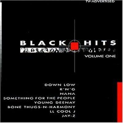Black Hits 1 (1998, Polystar) Rapsody/LL Cool J, RnG, Down Low, Young.. [2 CD]
