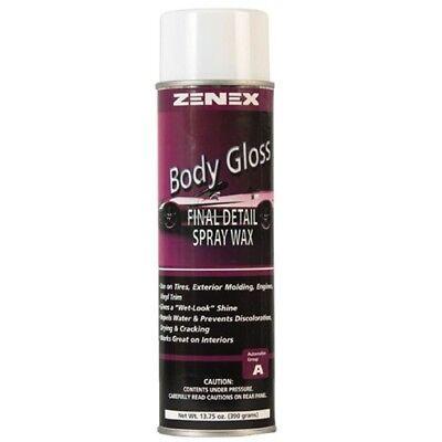 Zenex Body Glass Final Detail Spray Wax - 12 Cans (Case)