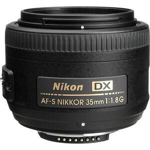 Nikon AF-S DX NIKKOR 35mm f/1.8G / NEW condition