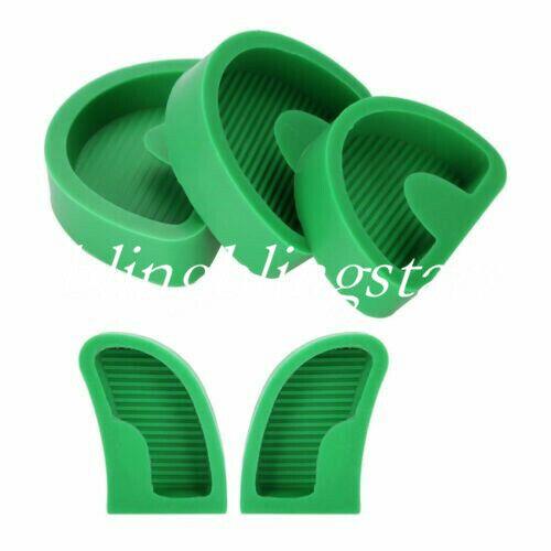 5 Pcs/Kit Dental Silicone Plaster Former Base Molds Model Trays S/M/L/Left/Right