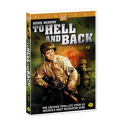 To Hell And Back (1955) Audie Murphy / WWII DVD *NEW