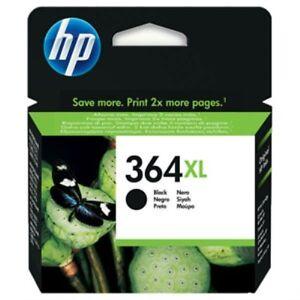 HP 364XL - CN684EE Genuine / Original BLACK Printer Ink Cartridge (Ink expired)