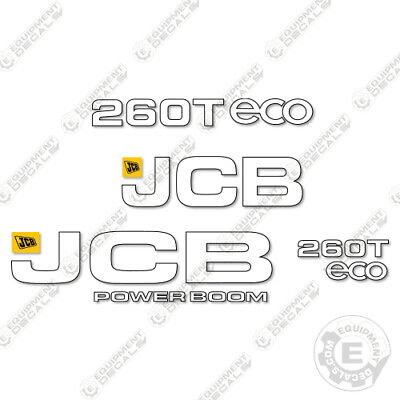 Jcb 260t Decal Kit Skid Steer Equipment Decals Replacement Partial Kit