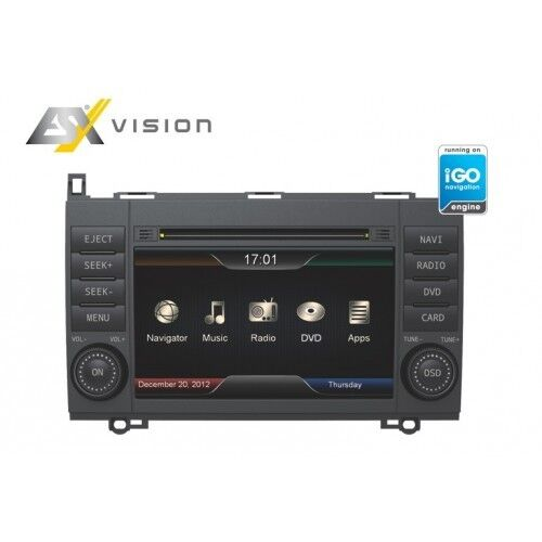 Navigation A-Klasse, B-Klasse, Sprinter, Viano, Vito, VW Crafter ESX VN710-MB-A2