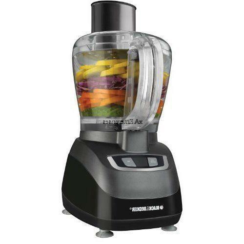 black and decker food processor ebay. Black Bedroom Furniture Sets. Home Design Ideas